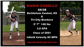 Mario Cubello Hitting/Middle Infield