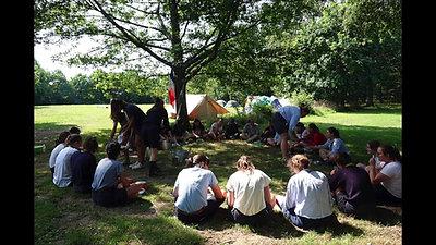 Camp des cheftaines à Campénéac
