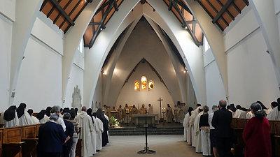 Bénédiction de la nouvelle Mère Abbesse