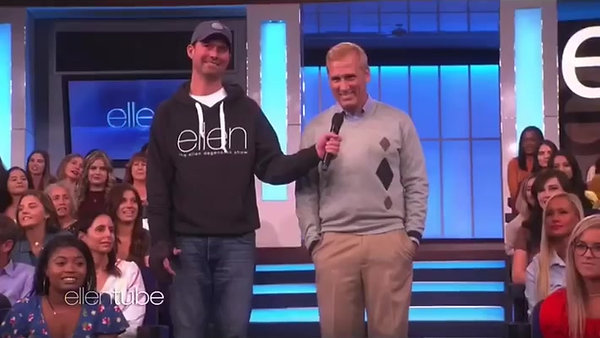 WILL ROBERTS ON THE ELLEN SHOW