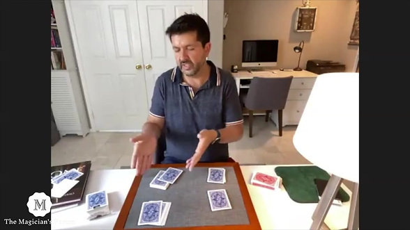 John Guastaferro Magic Lecture