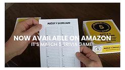 Match 5 Trivia Game