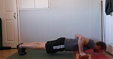Pushup on parallettes