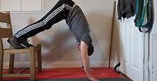 Feet Elevated Shoulder Taps