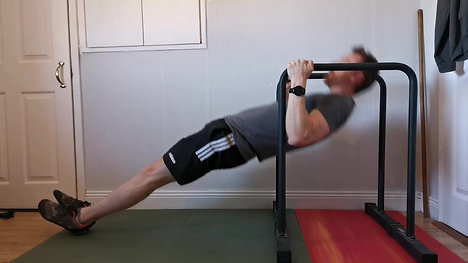 Advanced Rows on High Parallettes