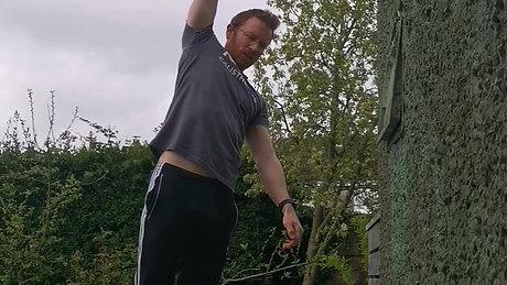 One Hand Alternating Hangs