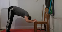 Hands elevated Pike Pushup