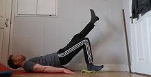 Single Leg Hamstring Slide-outs