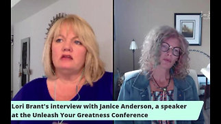 Interview with Janice Anderson, a speaker at the 2019 Unleash Your Greatness Conference