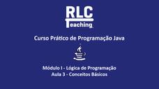 3 - Conceitos Básicos  de Programação