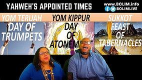 BOLIM Sabbath Worship 091821 The Appointed Times of Yahweh Sukkot Tabernacles