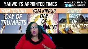BOLIM Sabbath Worship 091121 Yom  Kippur Day of Atonement