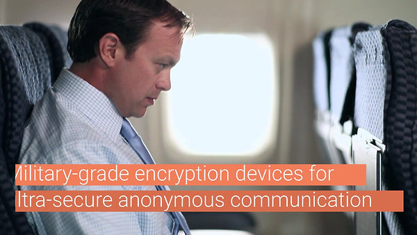 DigitalBank Vault provides sophisticated Digital Anti Surveillance technologies