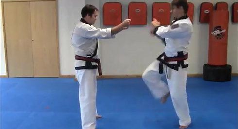 2 onto 1 Self-Defence