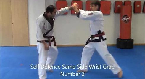Same Side Self Defence #1 to #4