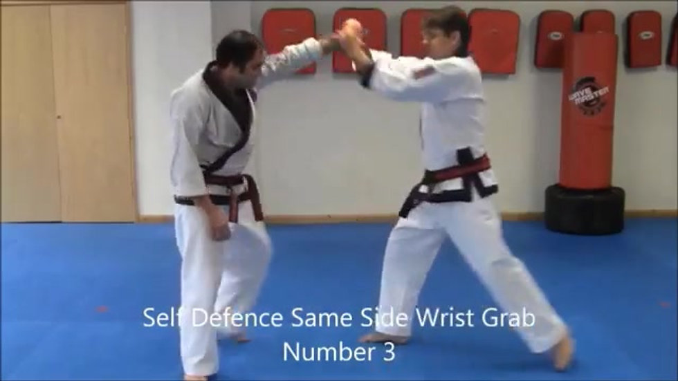 Ho Sin Sool (Wrist Grabs)