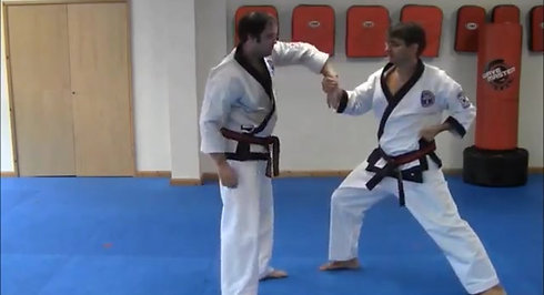 Reverse Double Handed Self Defence #1 & #2