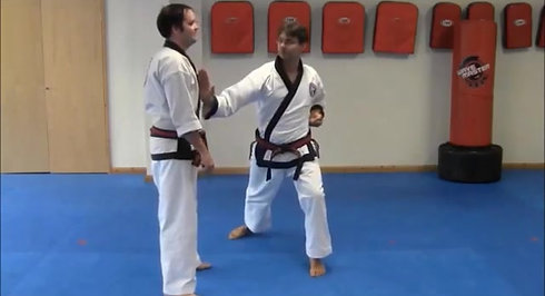 Cross Hand Self-Defence #1 to #4