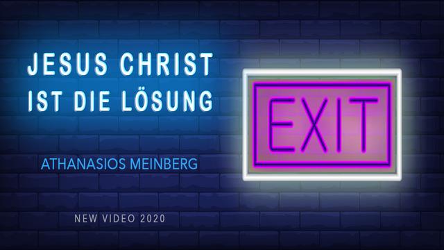 JESUS CHRISTUS ist die Lösung !