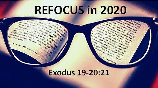 Refocus in 2020