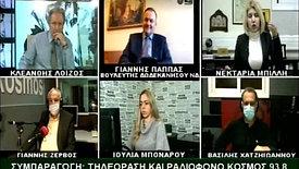 ΙΩΑΝΝΗΣ ΠΑΠΠΑΣ TVKOSMOS (3-2-21)