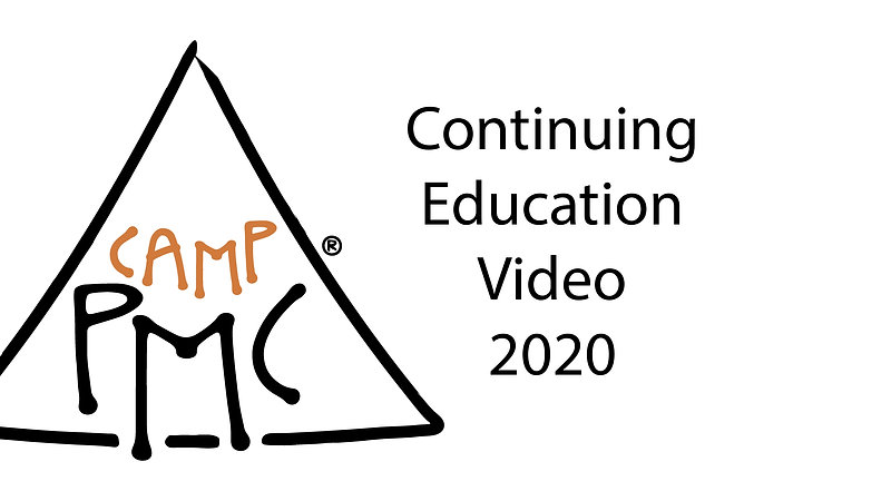 Camp PMC Continuing Education 2020