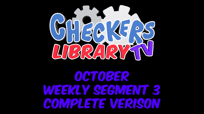 Checkers October Weekly new