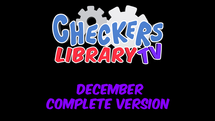 Checkers Library TV December