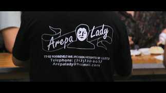 AREPA LADY AT THE MEADOWS CONCERT