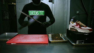 QUEENS BULLY RESTAURANT X ALL THE RIGHT STORE-NIKE BACON SNEAKERS COMMERCIAL