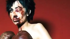 The Boxer: Hunger Magazine Nadia Lee Cohen Halloween Self Portrait 2018