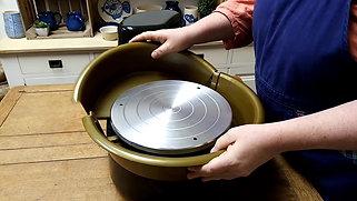 attaching the splash pan