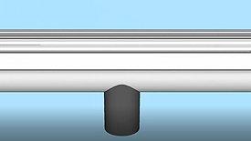 Install Downspout Outlet in OG Gutter