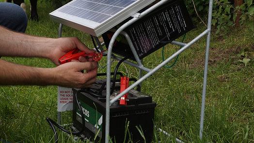 Cheetah Solar Panel & Stand