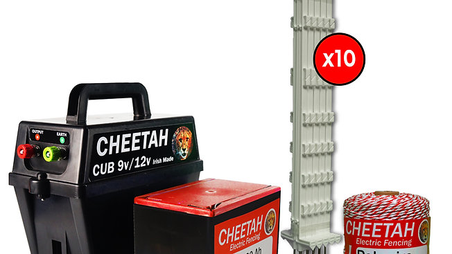 Cheetah Plastic Post Kit