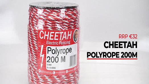Cheetah Polyrope 6mm 200m