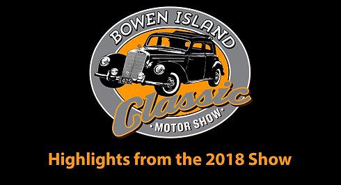 2018 Bowen Island Classic Motor Show