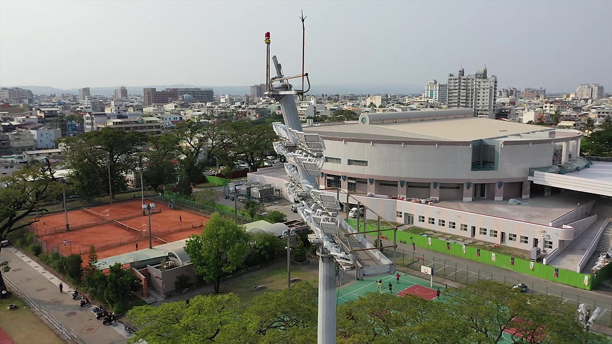 Track and Field Stadium in Pingtung Lighting Project