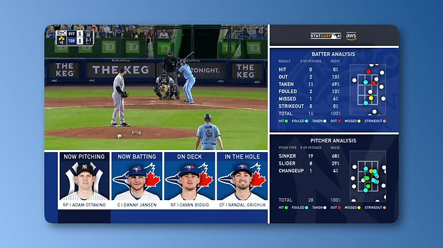 Baseball Streaming App Statcast View Concept Video