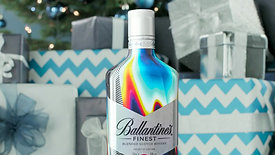 Ballantine's Whisky Winter Content - Tap to wrap special
