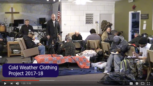 Cold Weather Clothing & Services for Homeless People