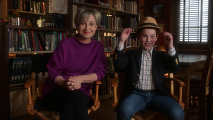 Annie Potts and Iain Armitage PSA FGS