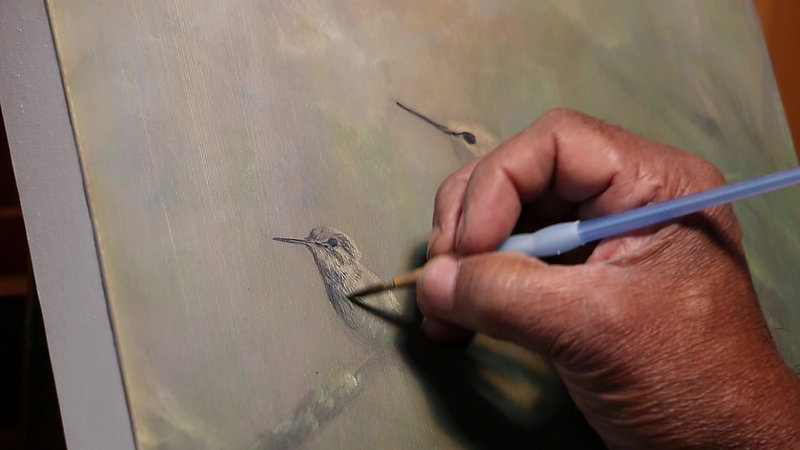 The Art of Nature Vol. 1 - Painting the Violet-Bellied Hummingbird