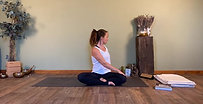 Twists & Release - Seated practice to wring out the spine and ground yourself