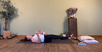 Leg release - 30 minutes into your back body, great for runners or people who love to exercise and get tight in the legs
