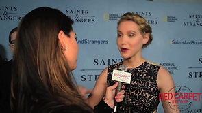 Roxane Hayward at the World Premiere of NatGeo's Saints and Strangers