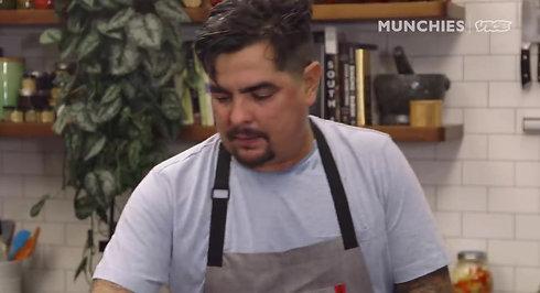 How To Make Chile Colorado Burritos with Aaron Sanchez