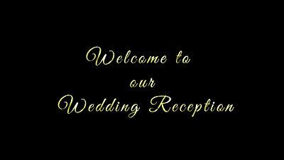 結婚式タイトル動画素材