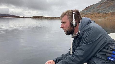 Recordings at Saanajärvi lake