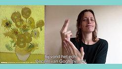 Museumgids Maaike Ferf Jentink over de zonnebloemen van Vincent van Gogh